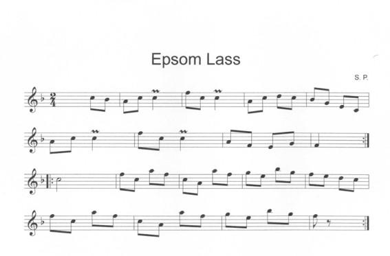 Epsom Lass in F