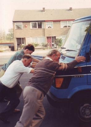 Hubert, Cyril & Simon A1 breakdown